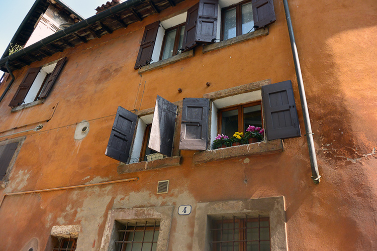 Окна и балконы Вероны