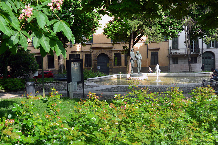 Парк в Вероне