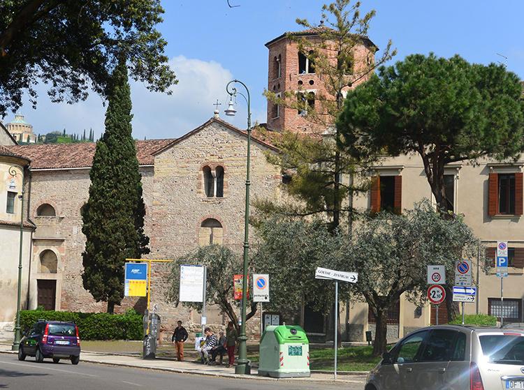 Церковь Св. Стефана Верона