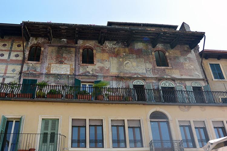 Дом с фресками Верона