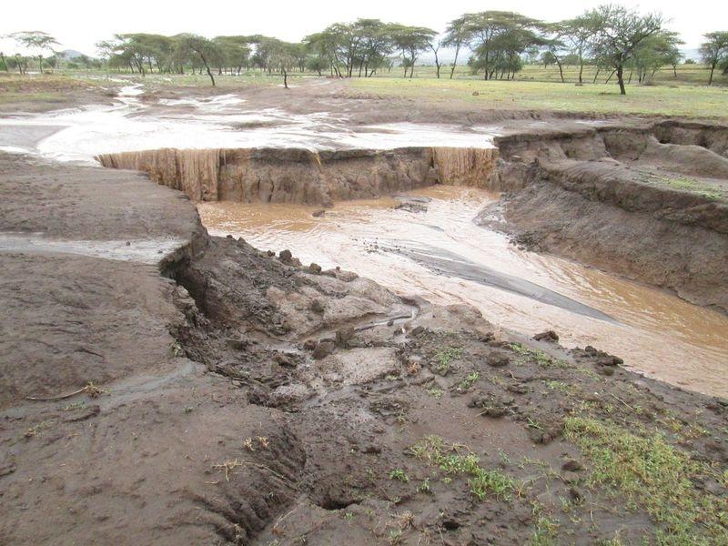 Эрозия почвы в Танзании