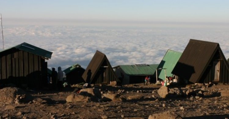 Спуск с Килиманджаро