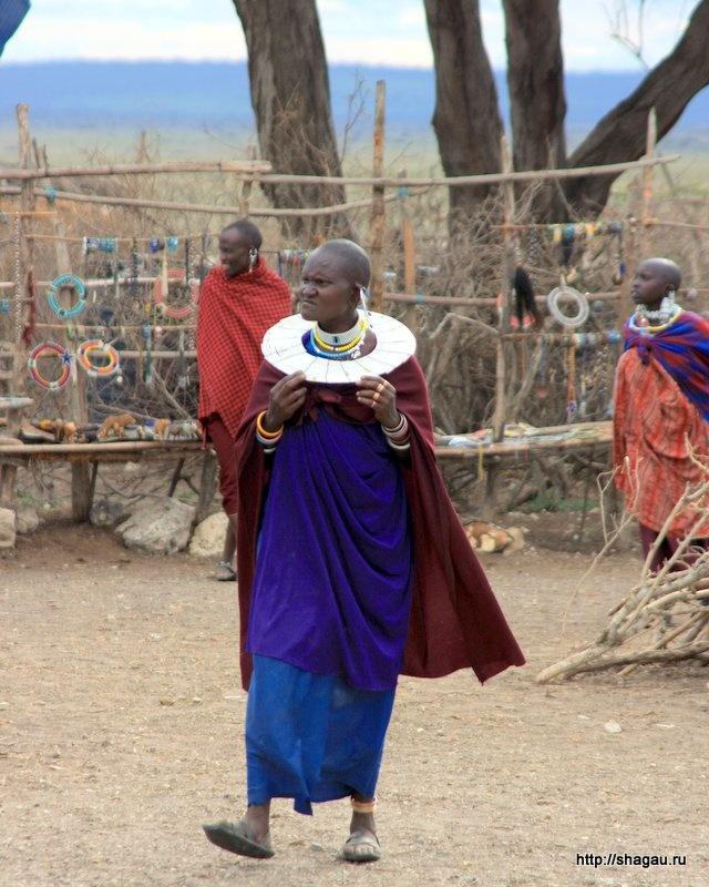 Красотка племени масаи