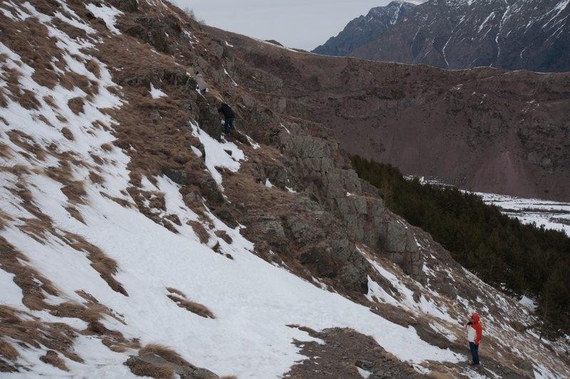 Снежные склоны Грузии