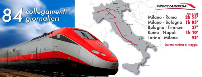 Поезда Италии: Красная стрела