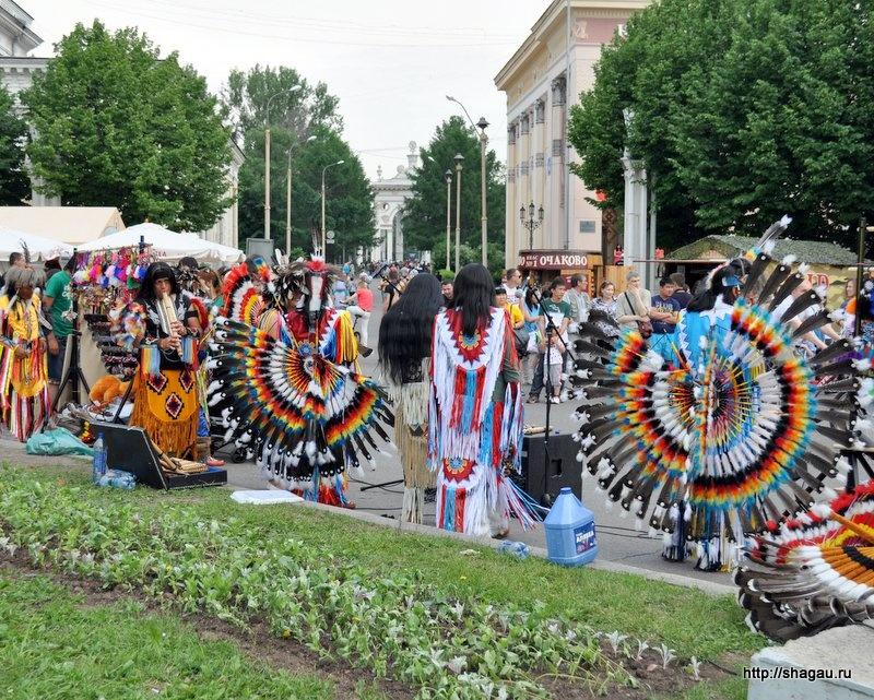 Индейские концерты на ВВЦ