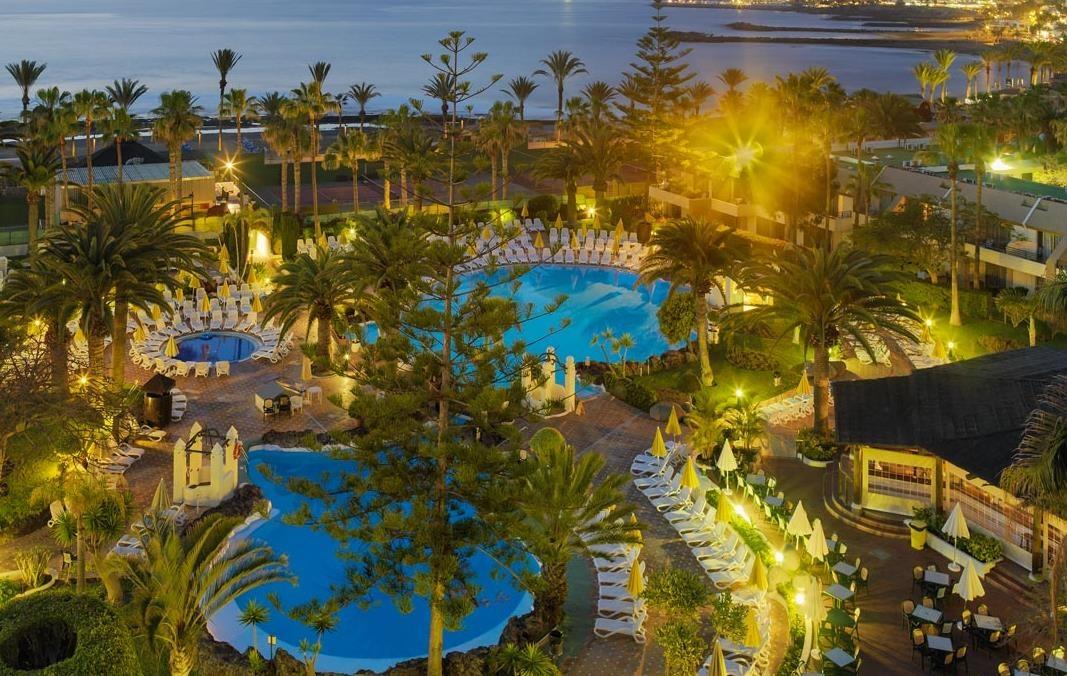 Отель las palmeras