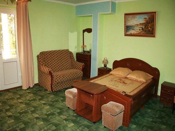 Пример полу-люкса в Доме отдыха Кудры