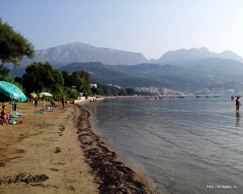 Пляж в Игало