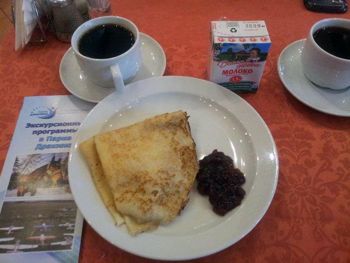 Завтрак в Дракино