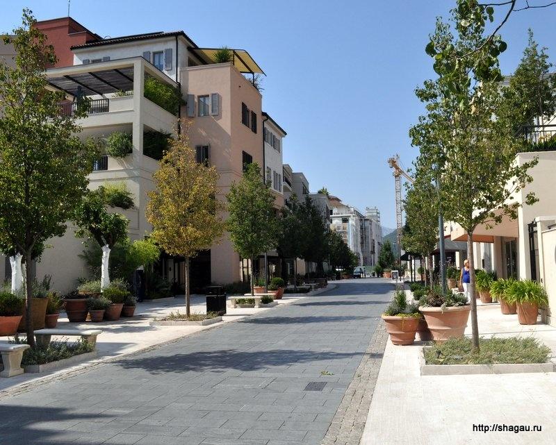 На улицах Тивата