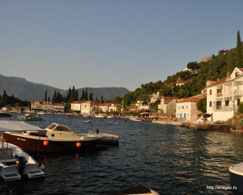 рыбацкая деревушка Роса, Черногория