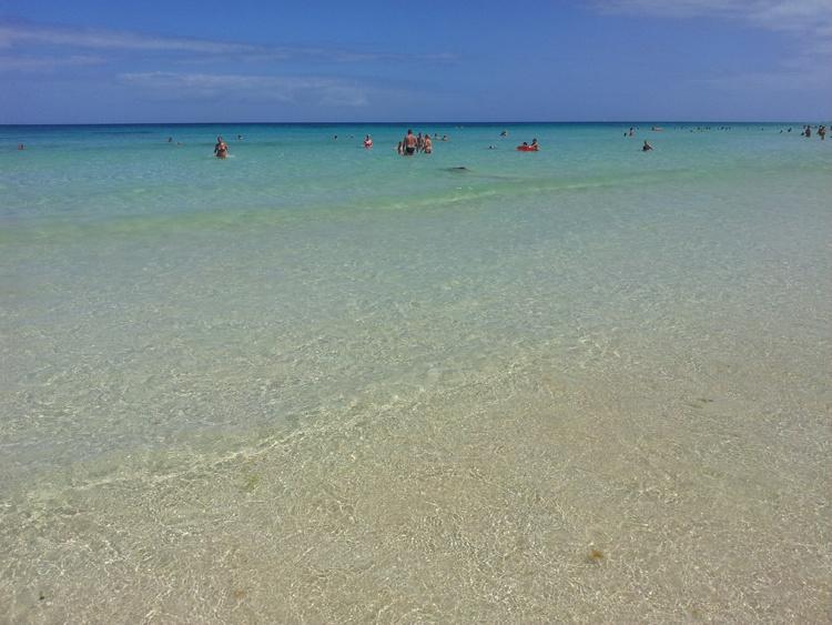 Белый песок на Канарских островах