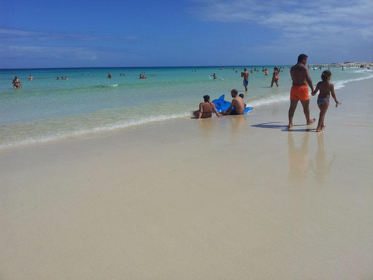 Пляж на Фуэртевентуре