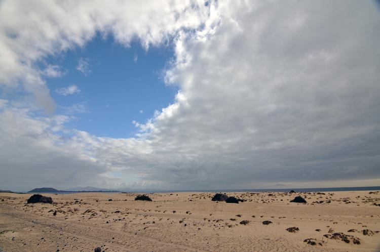 Окно над дюнами