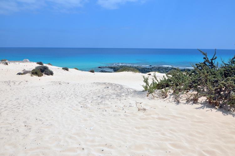Пляж в Корралехо