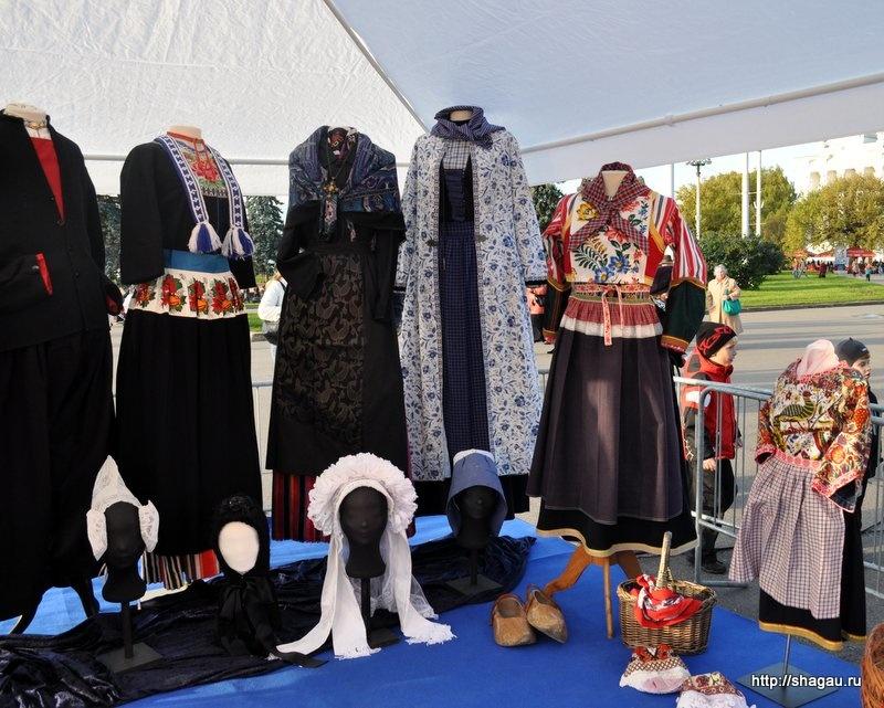 Традиционная одежда провинций Нидерландов