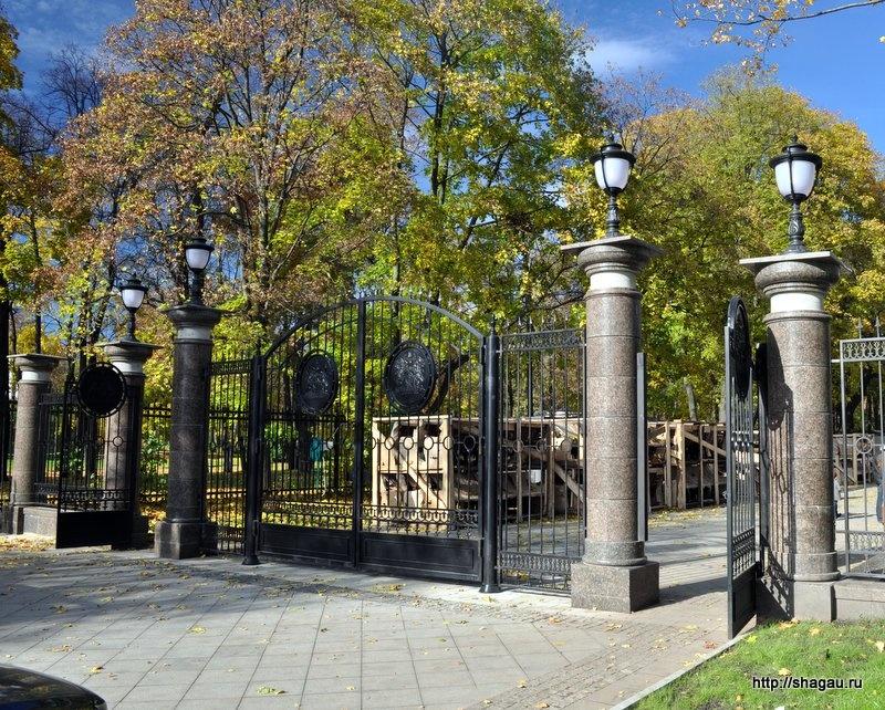 Новая ограда парка Останкино