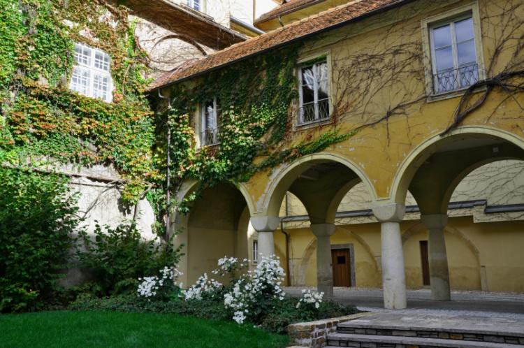 Один из двориков Граца