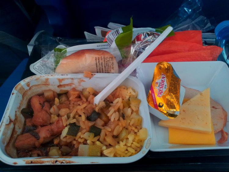 Еда в Аэрофлоте