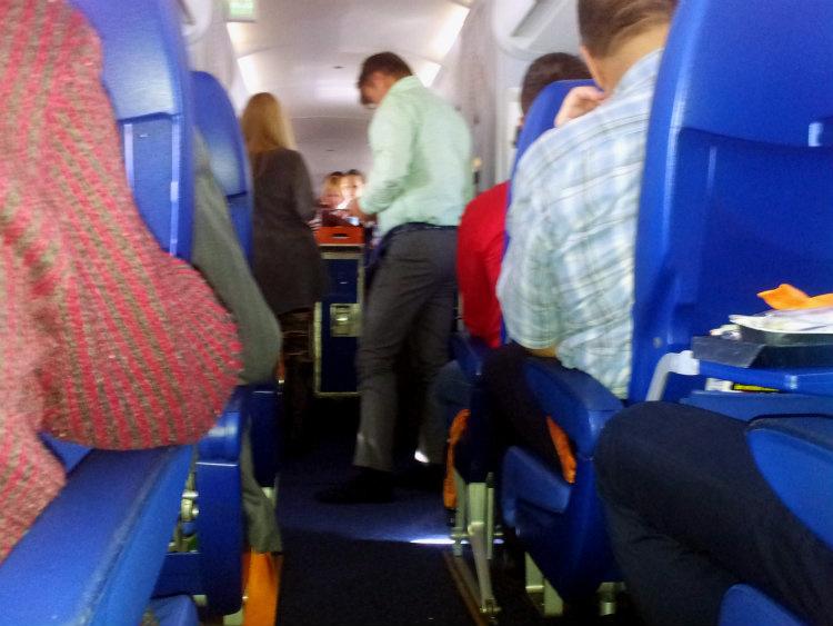 Самолет в Вену