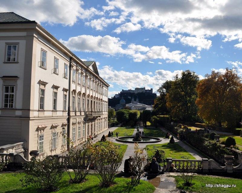 Сад и Дворец Мирабель