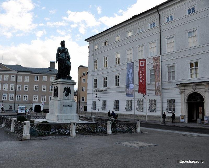 Площадь Моцарта
