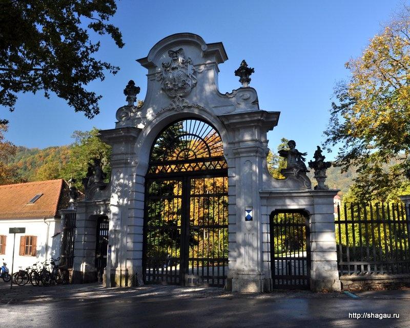 Ворота в сад Эггенберг