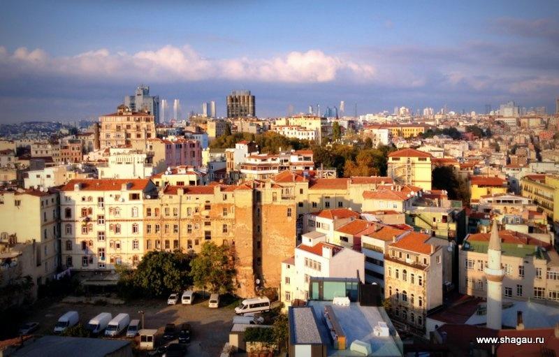 Стамбул свысока