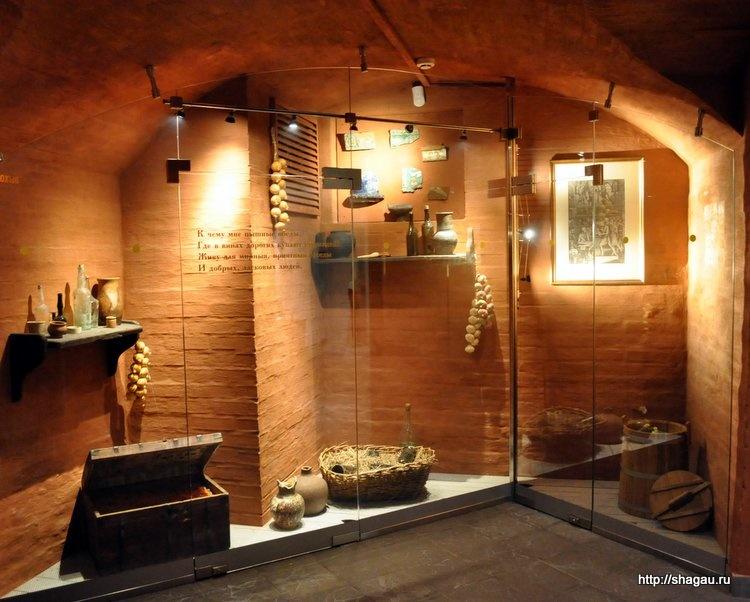 В подвале музея