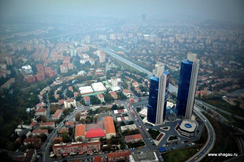 Вид на современный Стамбул