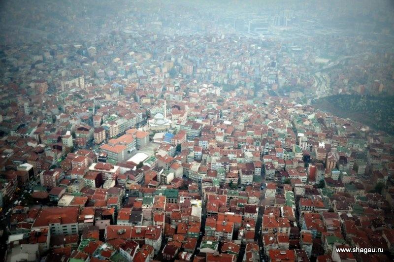 Вид на Стамбул с Сапфира