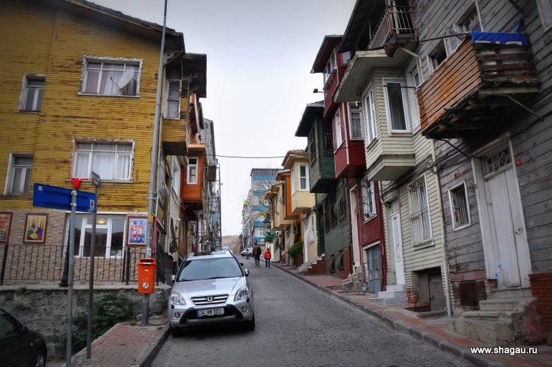 Старые улицы Стамбула