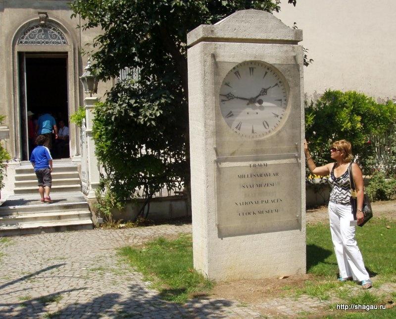 Вход в музей часов