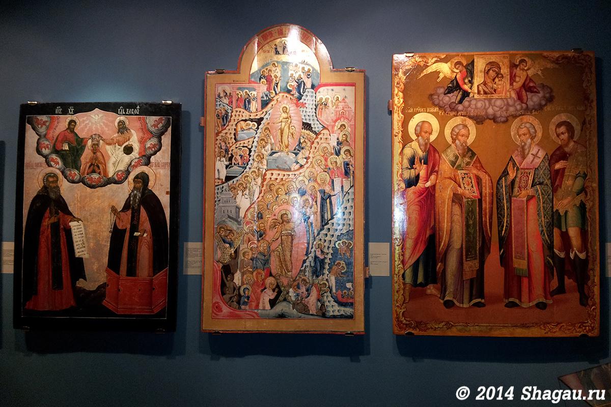 В музее Ипатьевского монастыря