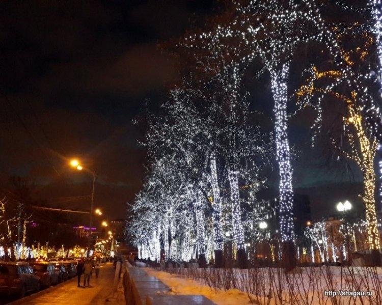 Рождественские ярмарки в Москве 2013-2014