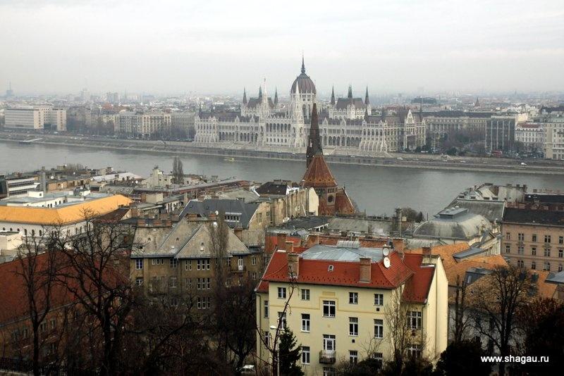 Будапешт с Рыбацкого бастиона