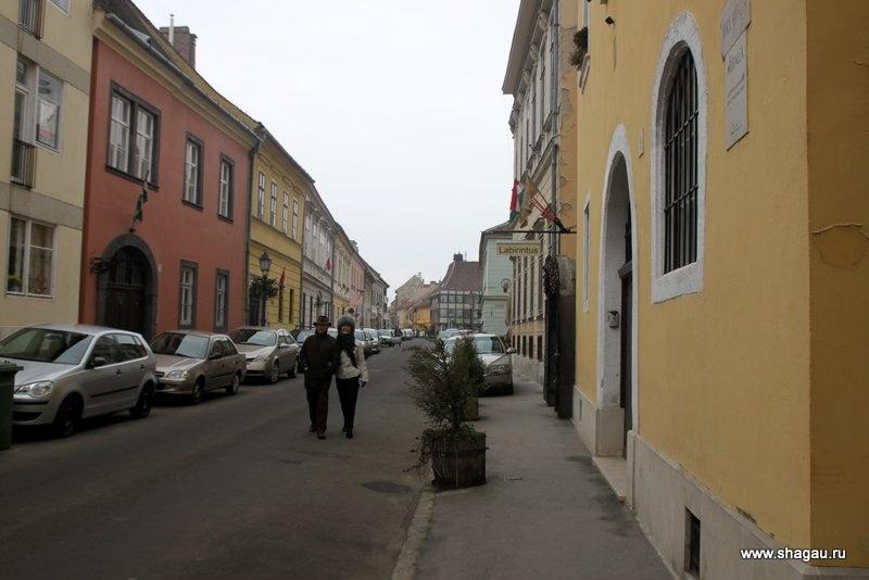 Купеческие улицы Буды