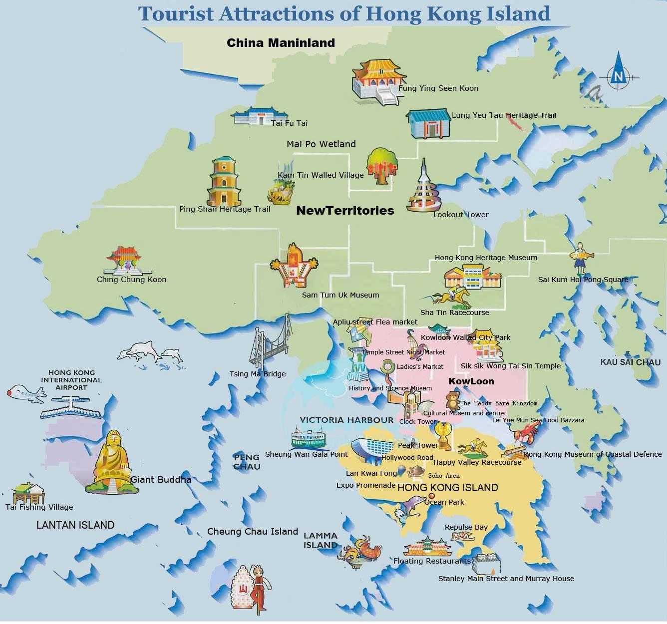 Территория Гонконга