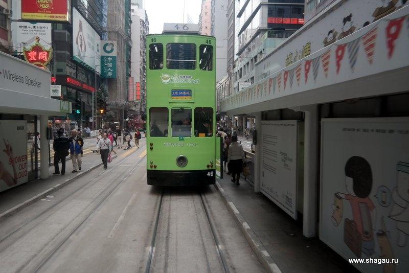 Трамваи Гонконга