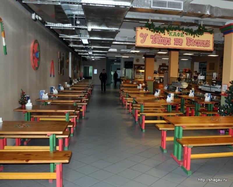 Кафе в здании музея