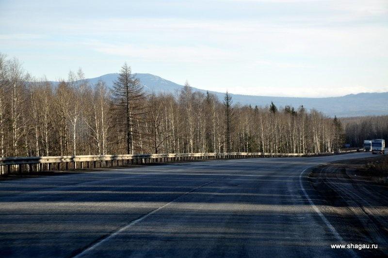 Дорога из Уфы в Троицк