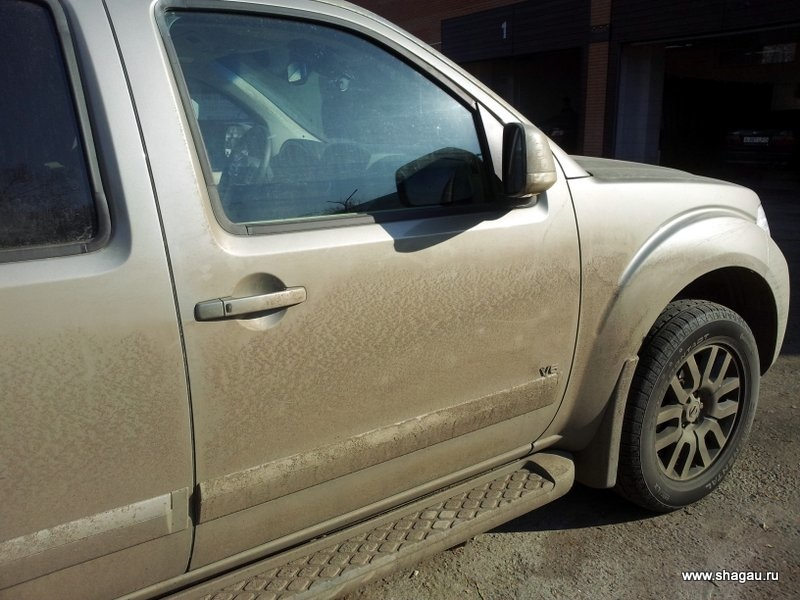 На машине в Алматы