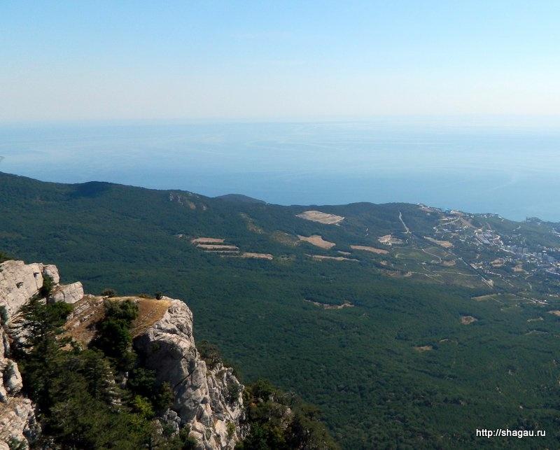 Вид в горы ай Петри