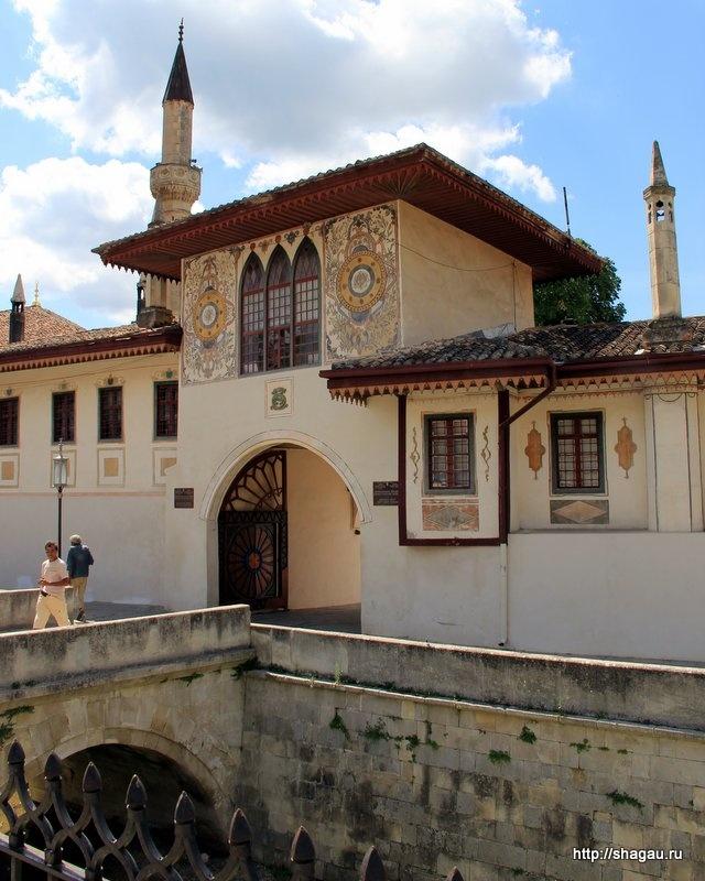 Вход в Бахчисарайский дворец