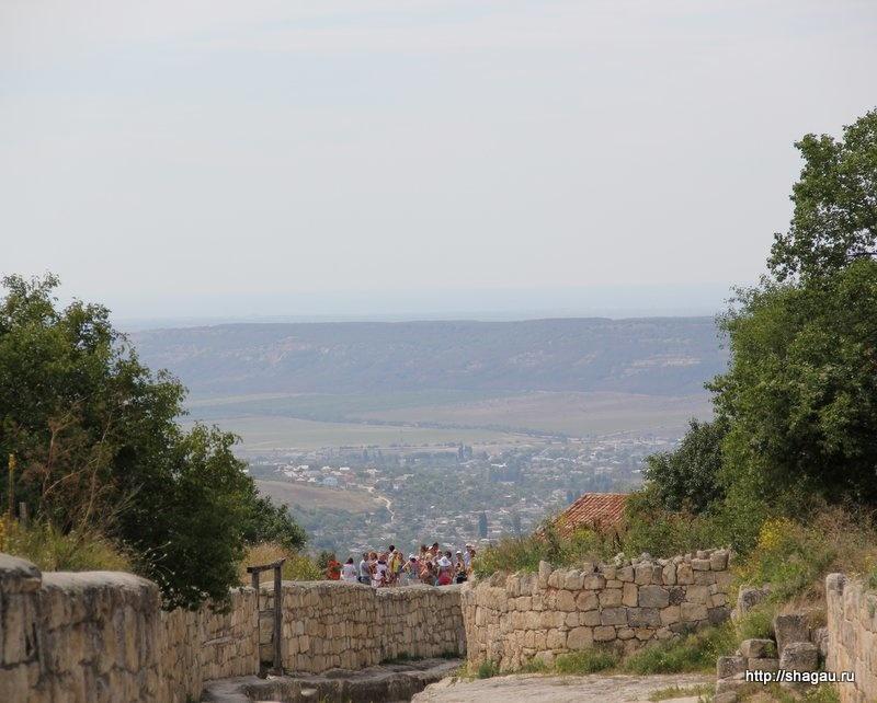 Взгляд с высоты Чуфут кале