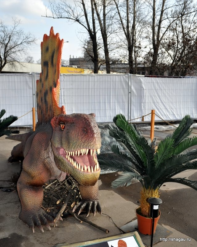 Динозавры на ВВЦ