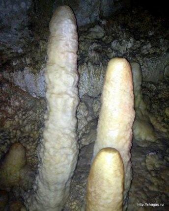 В пещерах Абхазии