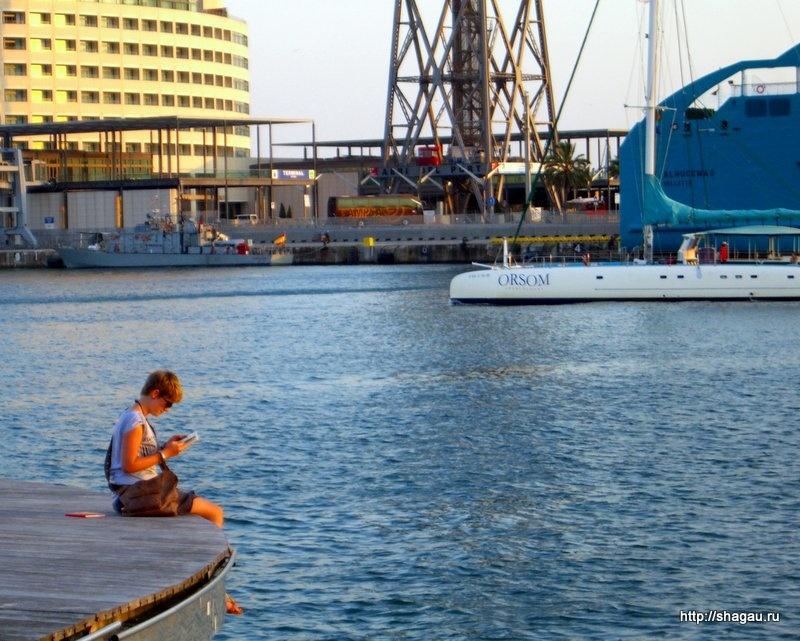 В порту Барселоны