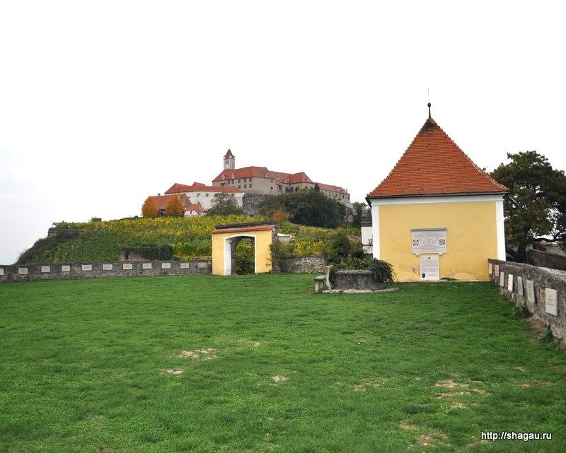 На территории замка Ригерсбург